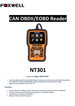 CAN OBDII/EOBD Reader