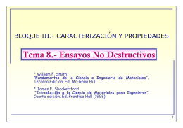 Tema 8.- Ensayos No Destructivos - OCW