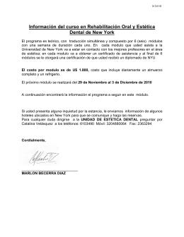 Colombia Group - Nov 29-Dec 3 2010- Agenda