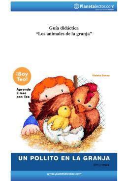 """Guía didáctica """"Los animales de la granja"""""""