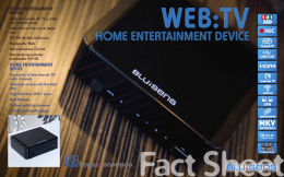 web:tv home entertainment device