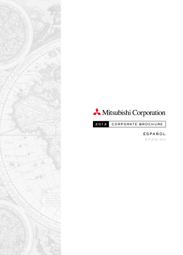 ESPAÑOL SPANISH - Mitsubishi Corporation