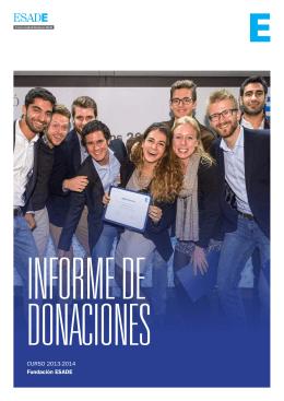 CURSO 2013-2014 Fundación ESADE