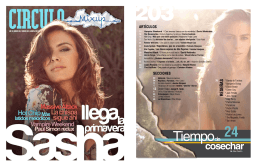 Tiempo - Thalia: Sensibilidad en libertad