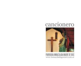 Cancionero - inmaculadagonnet.com.ar