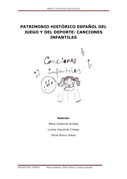 CANCIONES INFANTILES COPIA