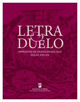 Catálogo Exposición Letra y Duelo