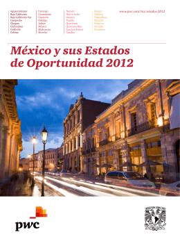 México y sus Estados de Oportunidad 2012