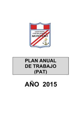 AÑO 2015 - Liceo Naval