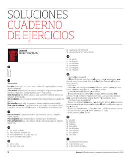 SOLUCIONES CUADERNO DE EJERCICIOS