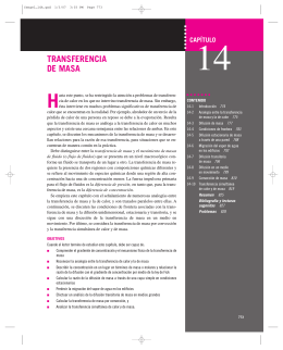 TRANSFERENCIA DE MASA - McGraw Hill Higher Education