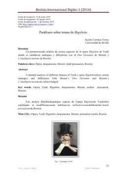 1.2. Paráfrasis sobre temas de Rigoletto.