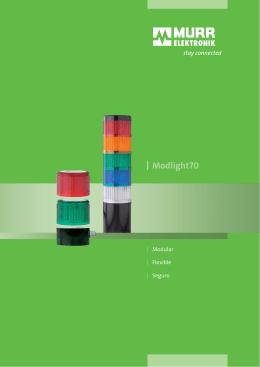Balizas luminosas modulares Modlight70