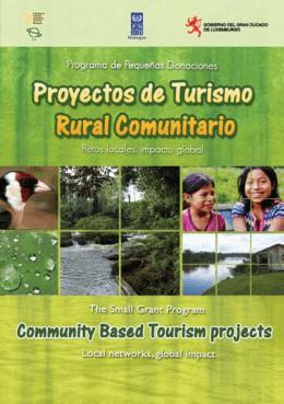 Guía Turística 09 PPD - Programa de Pequeñas Donaciones
