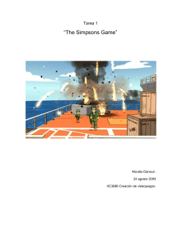 """The Simpsons Game"""