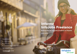 Informe InfoJobs Freelance