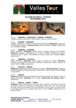 KENYA ETIOPIA corto esp