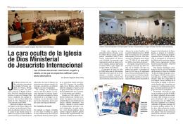 La cara oculta de la Iglesia de Dios Ministerial de Jesucristo