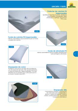 Funda de colchón PU impermeable LENCERÍA Y