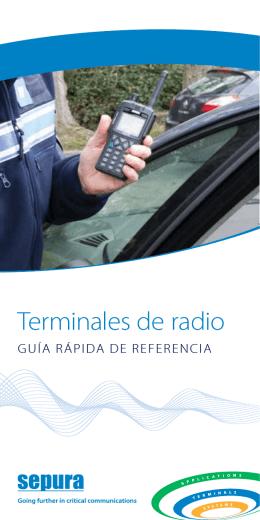 Terminales de radio