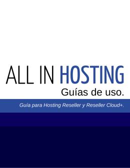 Guía de Hosting Reseller