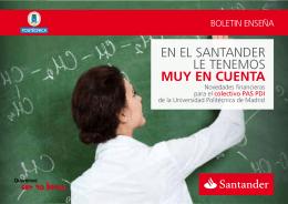 """Plan """"Queremos ser tu Banco"""" - Universidad Politécnica de Madrid"""