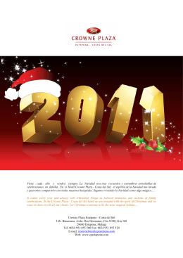 Programa de Navidad y Fin de Año 2011-2012