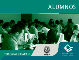 manual guarani1 - Facultad de Ciencias Jurídicas y Sociales