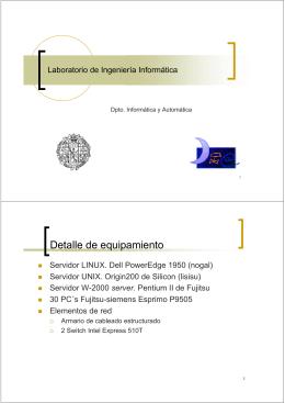 Descripción del Laboratorio de Prácticas