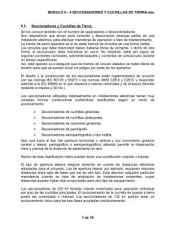 MODULO II - 4 SECCIONADORES Y CUCHILLAS DE TIERRA.doc 1
