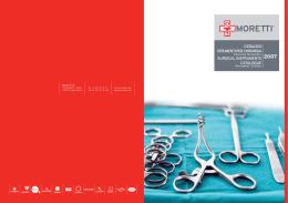 catalogo strumenti per chirurgia surgical instruments