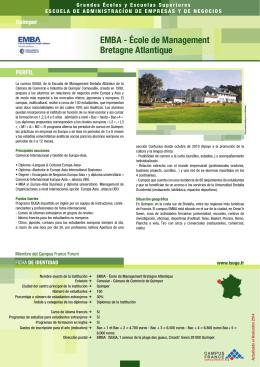 EMBA - École de Management Bretagne Atlantique