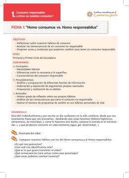 Fichas de las unidades didacticas