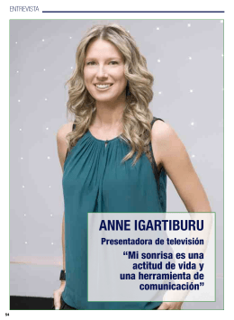 ANNE IGARTIBURU - El Dentista del Siglo XXI