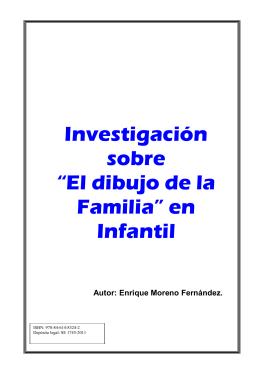 """Investigación sobre """"El dibujo de la Familia"""" en Infantil"""
