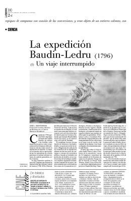 La expedición Baudin