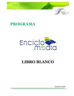 Programa Enciclomedia - Sistema de Información Cultural