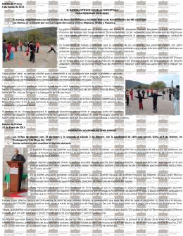 ESCUELAS DEPORTIVAS (mas informacion da CLICK)