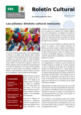 Noviembre-Diciembre 2012 Cultural