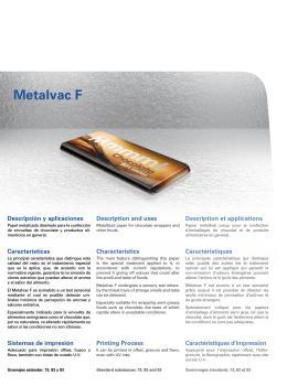 Metalvac F - Torraspapel