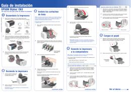 Guía de instalación - Epson America, Inc.