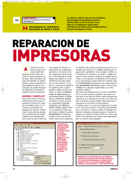 REPARACION DE - Diagramas Electronicos