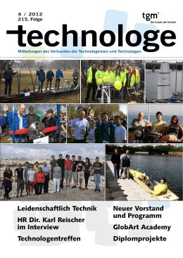 technologe Nr. 215 - Technologenverband