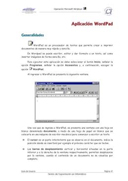 Guia del Usuario Operación Windows