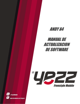 Manual de act. Andy 3G 4.0 YZ1120
