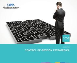 CONTROL DE GESTIÓN ESTRATÉGICA