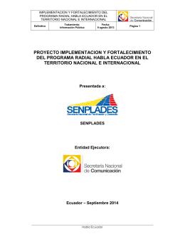 Anexo Literal k) Proyecto Habla Ecuador