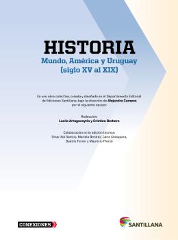 HIstorIa - Santillana Uruguay