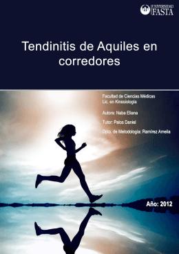 Tendinitis de Aquiles en corredores