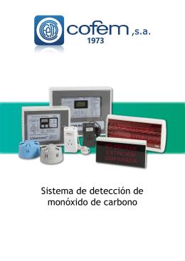 Sistema de detección de monóxido de carbono